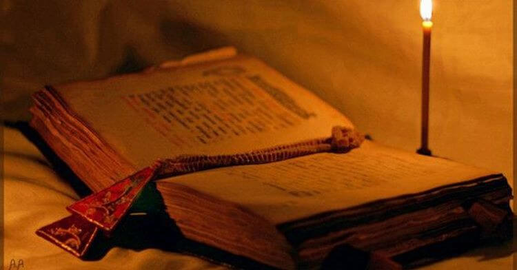 Удивительный текст, найденный в старой церкви