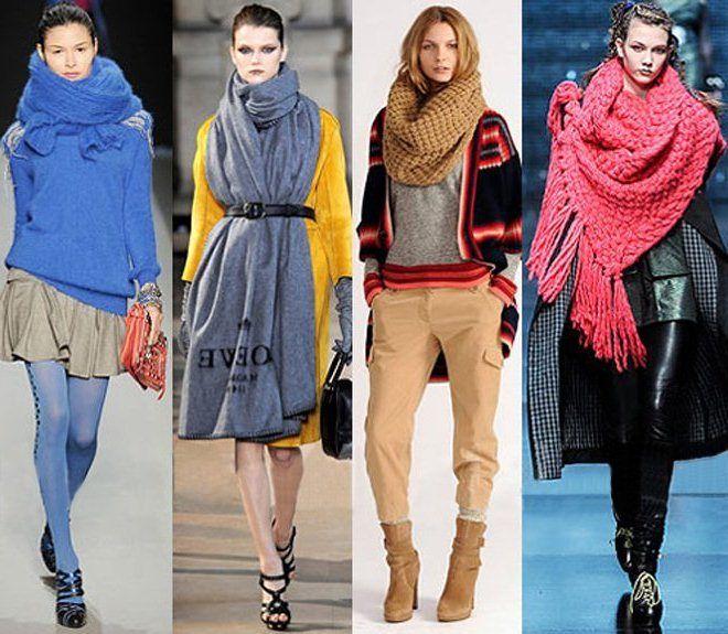 Как элегантно и умело завязать палантин, шарф, платок