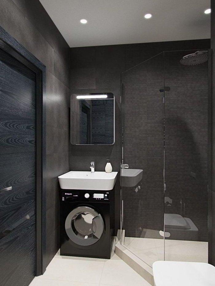 Пятнадцать потрясающих решений для маленьких ванных – просто, стильно, эргономично, комфортно