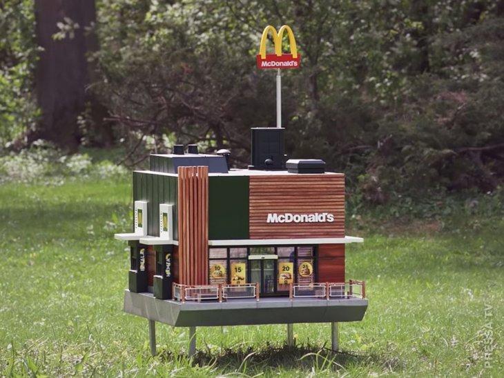 McDonald's открывает крошечный ресторан для пчел