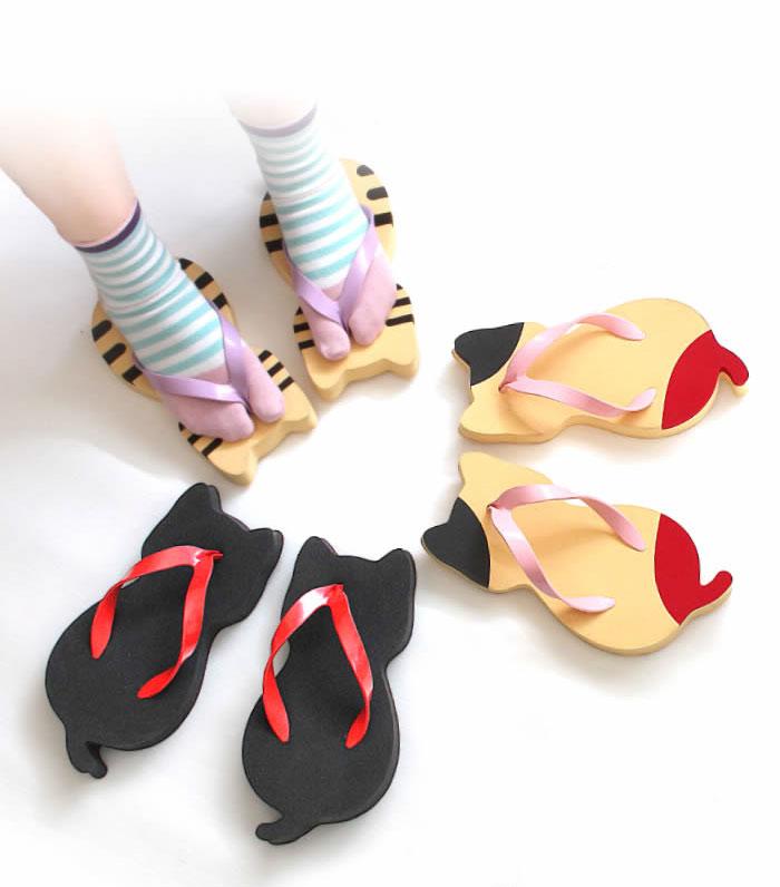 Японские дизайнеры создали тренд этого лета — сланцы в виде кошек