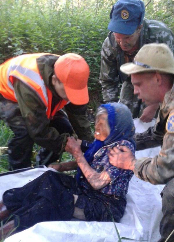 Невероятное спасение бабушки