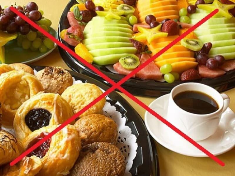 Что можно и нельзя есть на завтрак