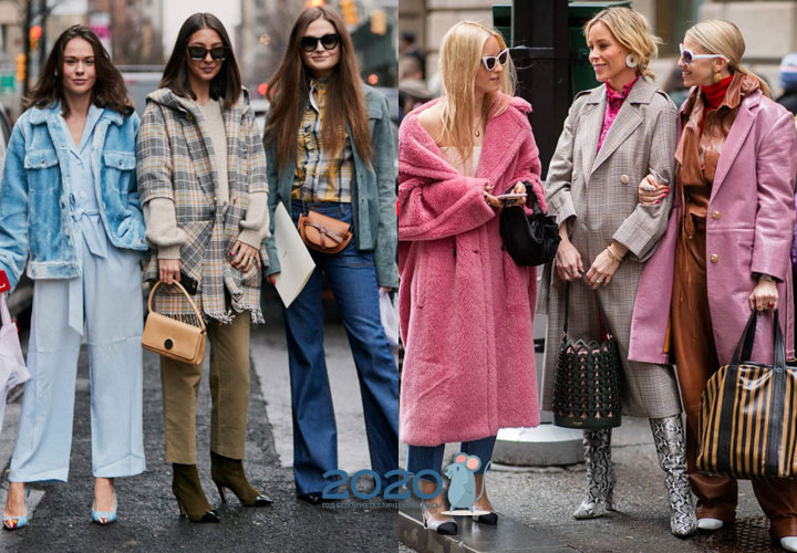 Женская модная одежда для зимы