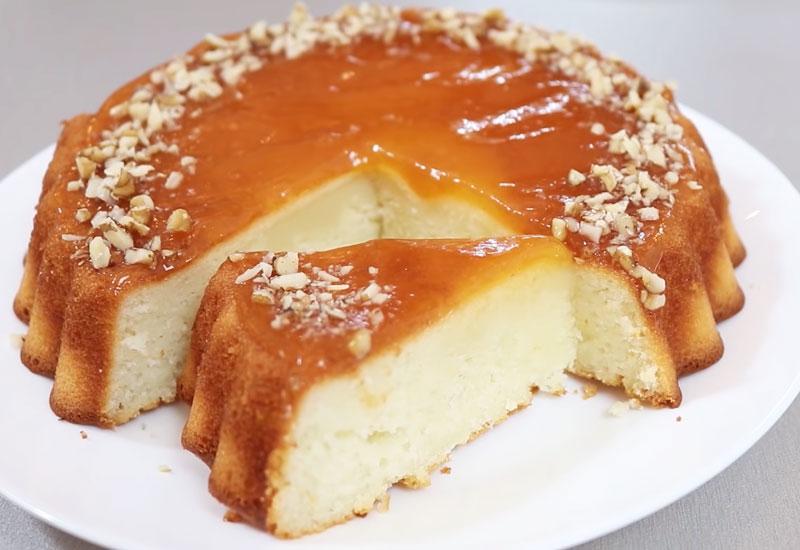 Быстрый пирог на кефире