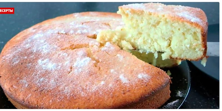 Самый вкусный ТВОРОЖНЫЙ кекс: все смешал и в духовку