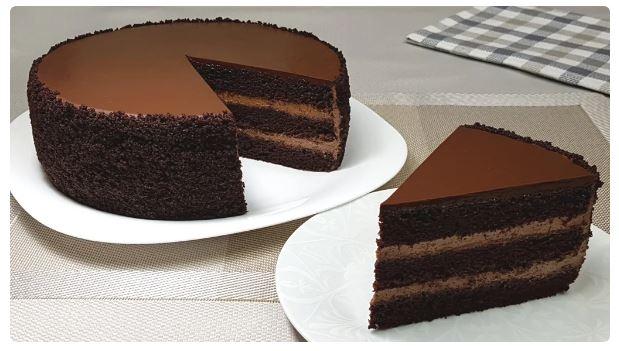 Любимый торт «Шоколадный бархат». Невероятно просто и легко готовится