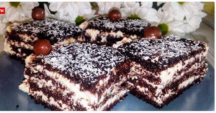Великолепный торт «АРАБСКИЕ СКАЗКИ» с изумительным МАННЫМ кремом