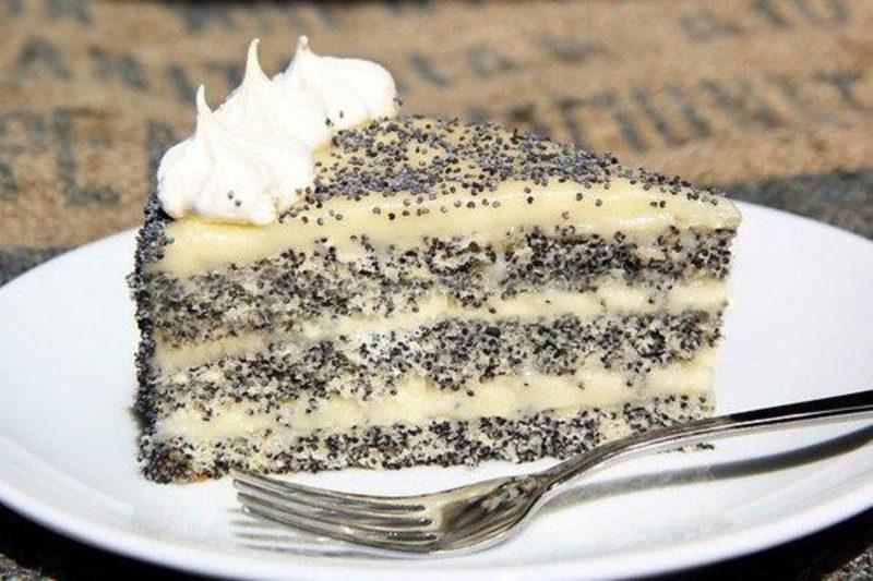 Торт Царица Эстер — приготовление оригинального, воздушного макового тортика