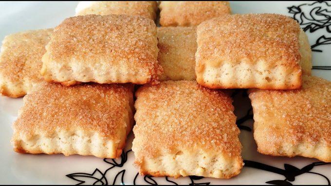 30 минут и готово. Простое и вкусное домашнее печенье!