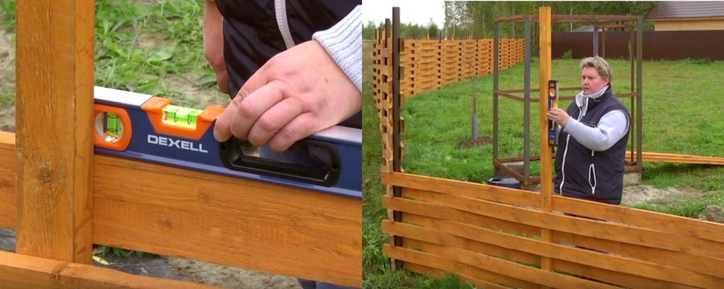 Плетеный забор из дерева: красивый и надежный для вашего участка