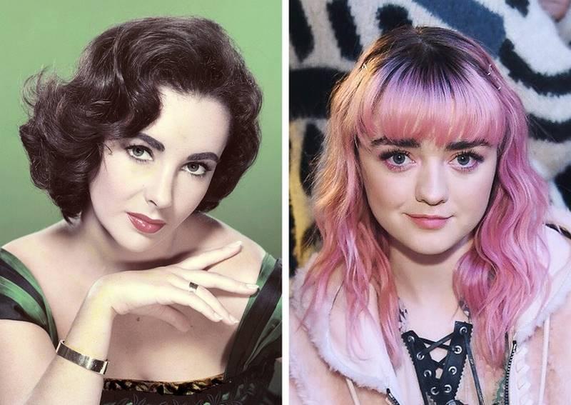 Молодость вчера и сегодня: сравнение знаменитостей-ровесников разных эпох