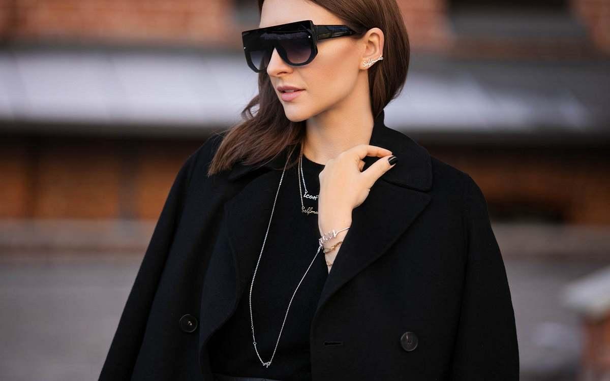 Как носить черные вещи