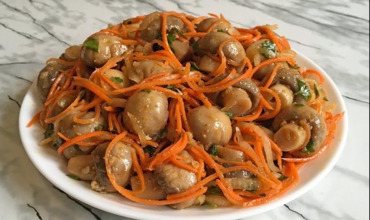 грибы по-корейски