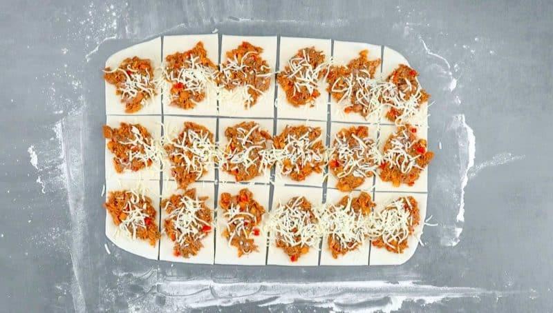 Домашний хлеб с мясной начинкой. Отличное угощение, которое будет радовать Вас каждый день 6